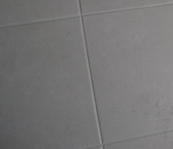 Tile Floor Cleaning Before